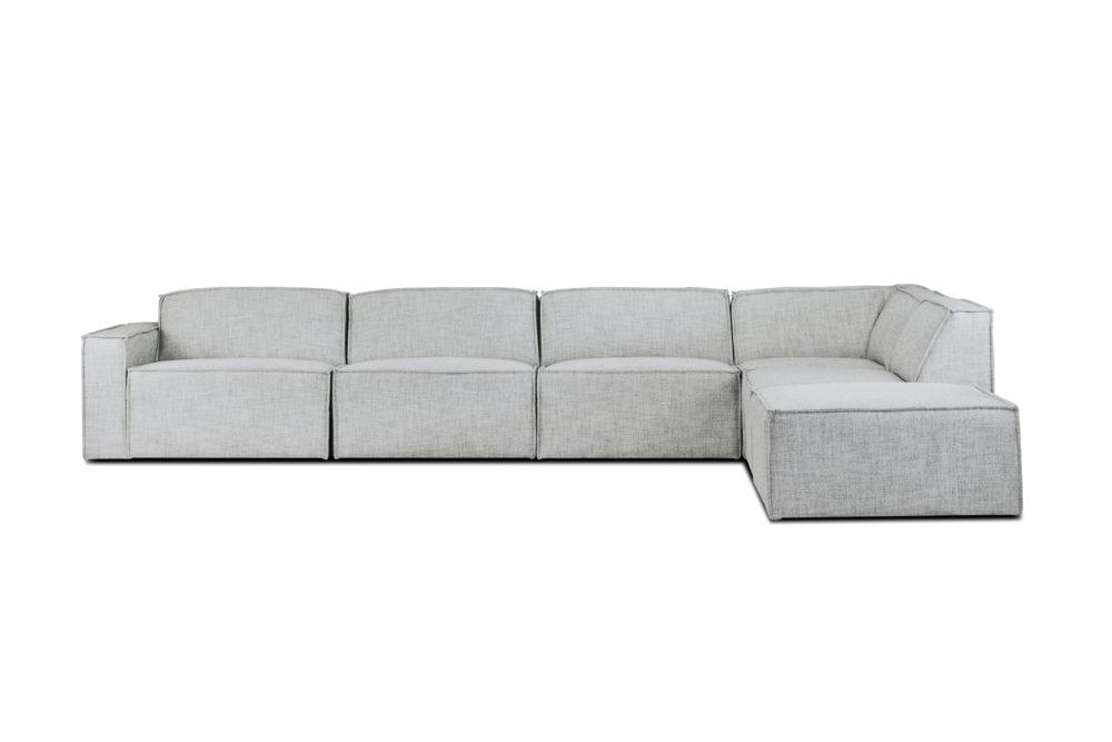 Monarco Modular Sofa Lounge Custom Upholstered Designer Fabric 1