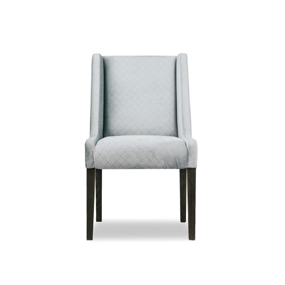 Anna Dining Chair Custom Upholstered Designer Fabric 1