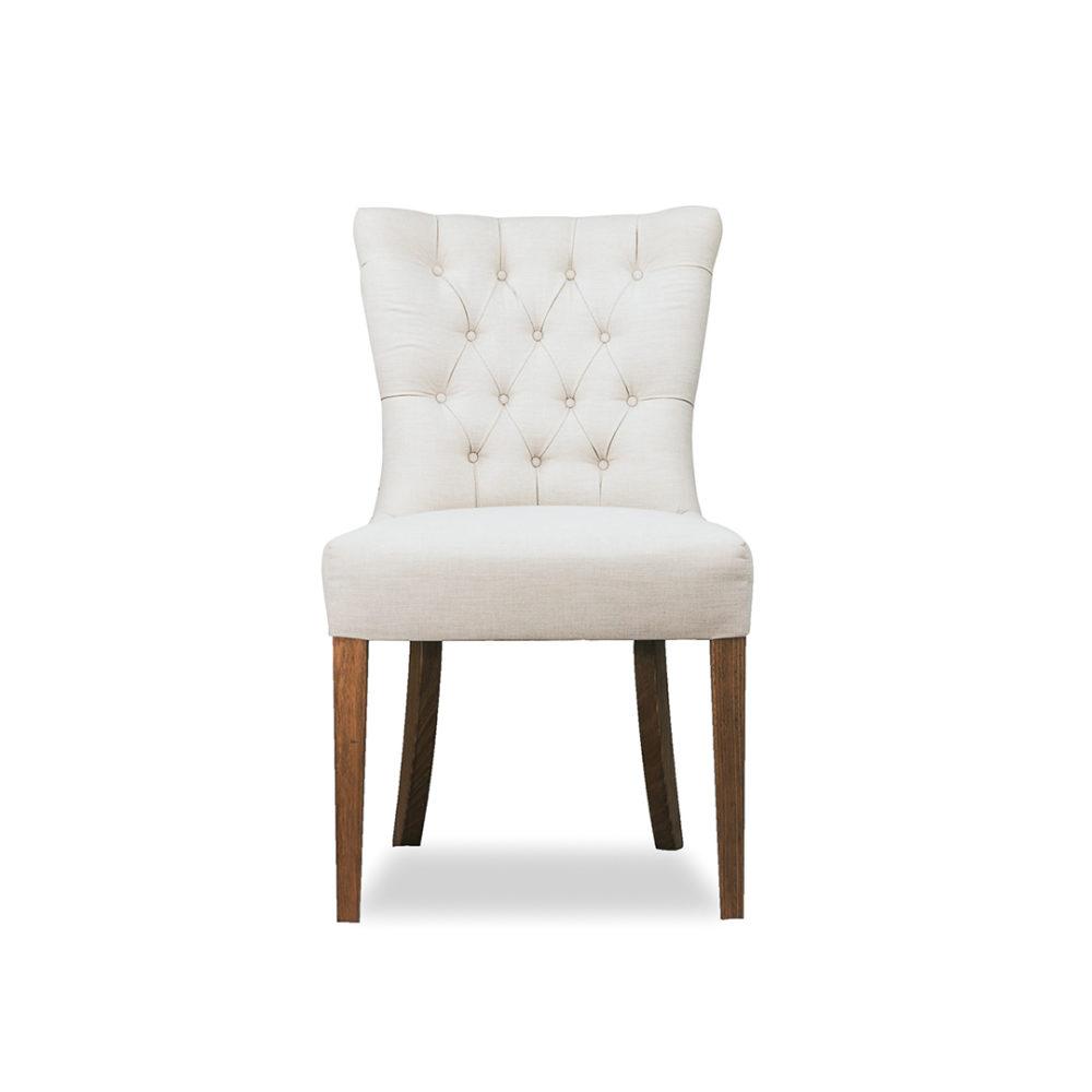 Bali Dining Chair Custom Upholstered Designer Fabric 1