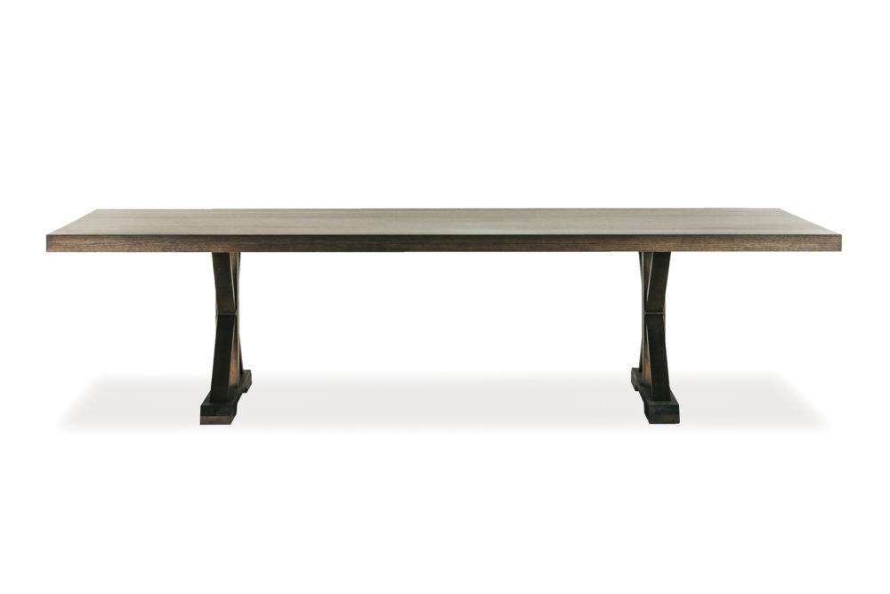 Barnyard Dining Table Custom Size Tasmanian Oak Timber 1