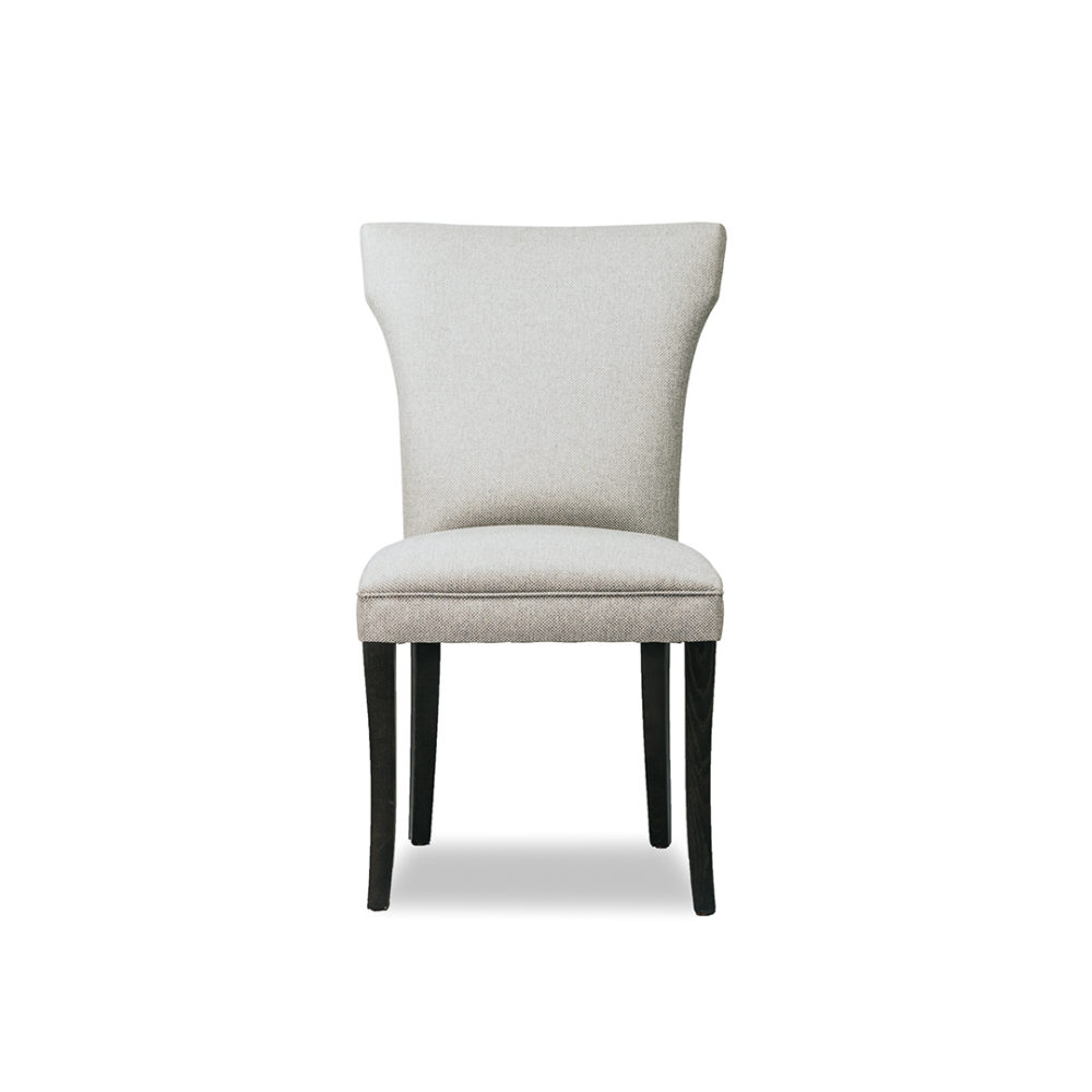 Bella Dining Chair Custom Upholstered Designer Fabric 1