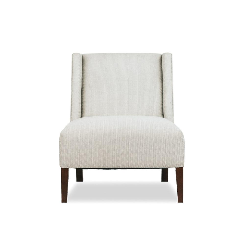 Bentley Occasional Chair Upholstered Custom Designer Fabric 1