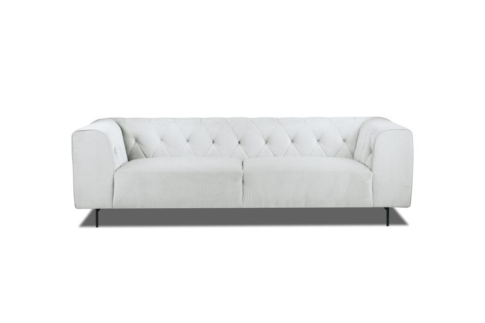 Brando 3 Seater Sofa Lounge Custom Designer Upholstered Fabric 1