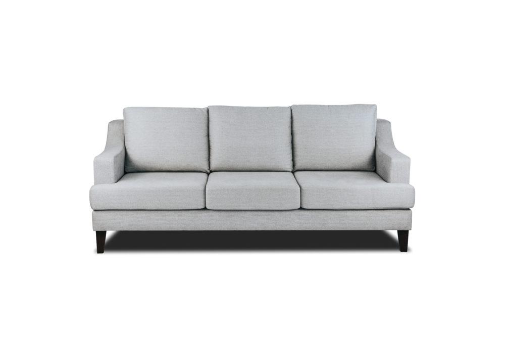 Cambridge 3 Seater Sofa Lounge Custom Designer Fabric 1