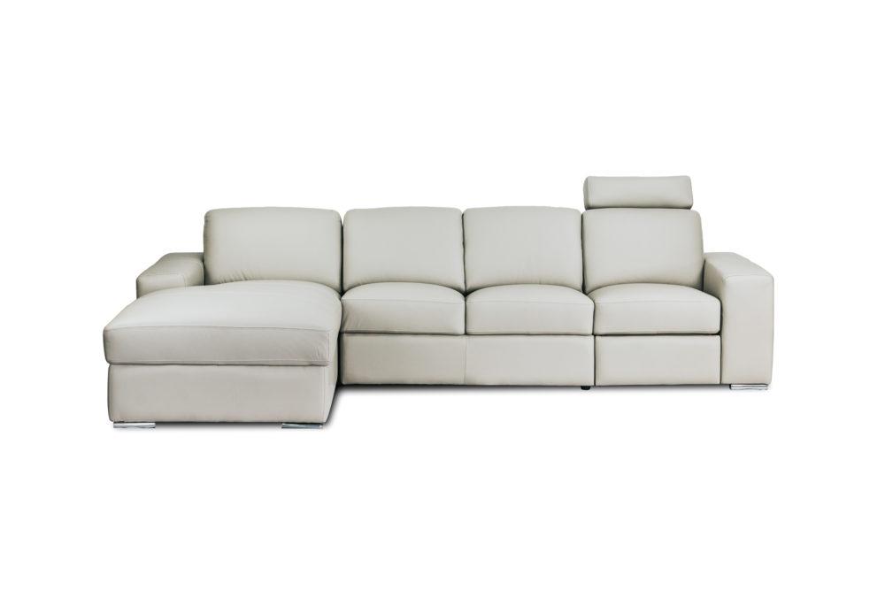 Concord 3 Seater Chase Sofa Lounge Custom Designer Fabric 1