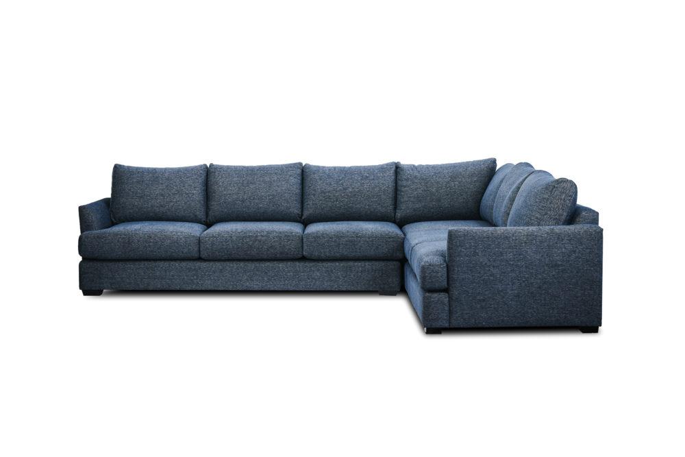 Oslo Modular Corner Sofa Lounge Custom Designer Upholstered Fabric 1