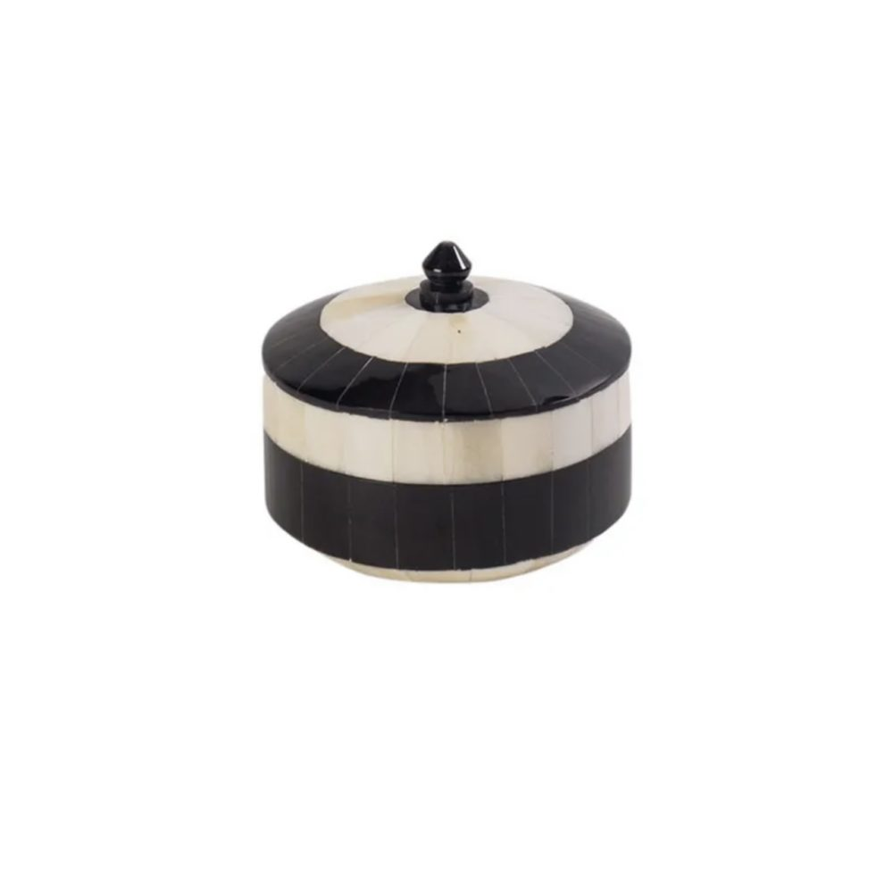 Alannah Trinket Box Cream Accessories Homeware 1