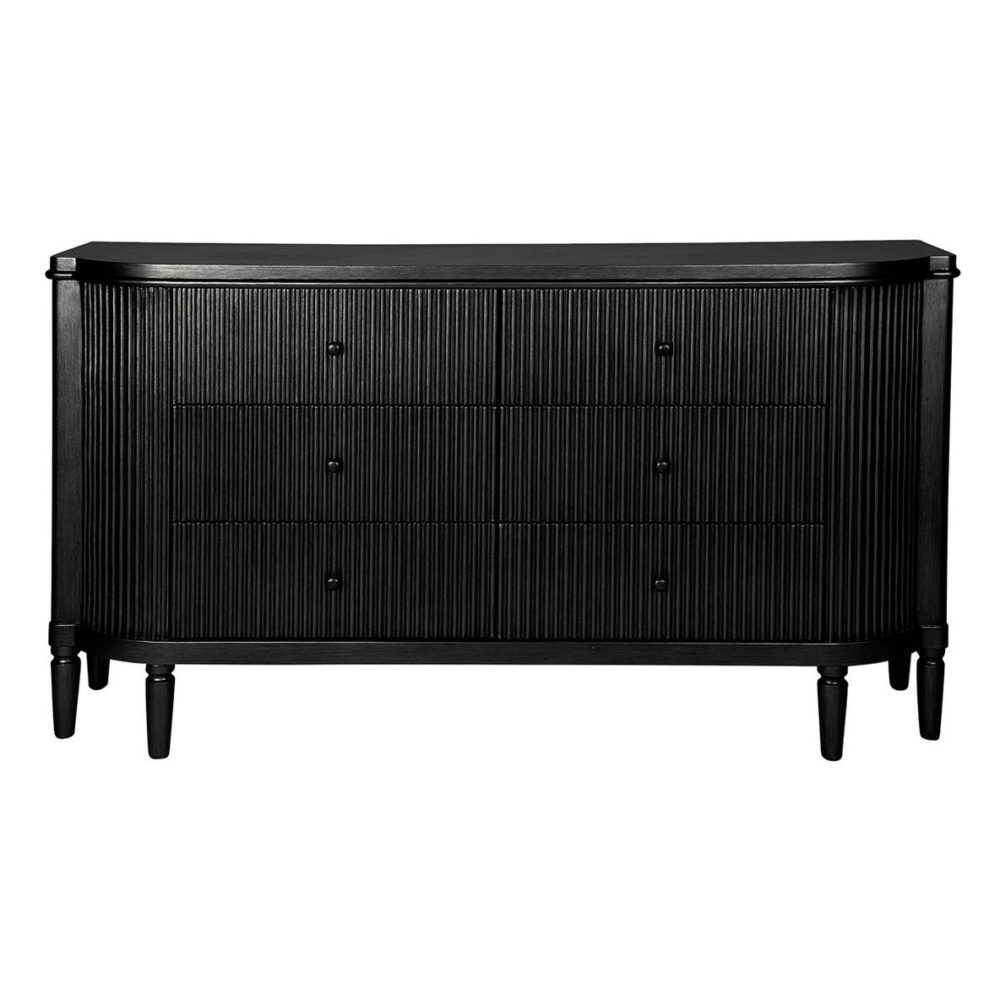 Ariana Chest Drawer Storage Living dining Bedroom - Black 1
