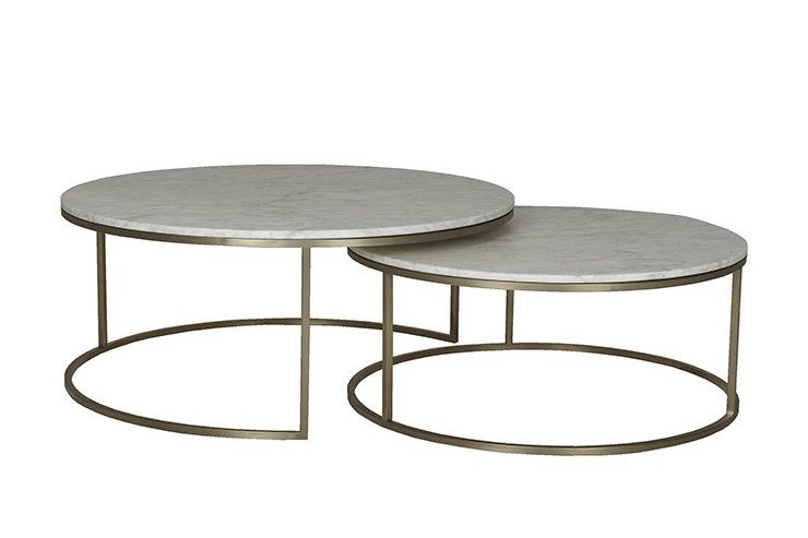 Bee Round Marble Nest Coffee Tables 1