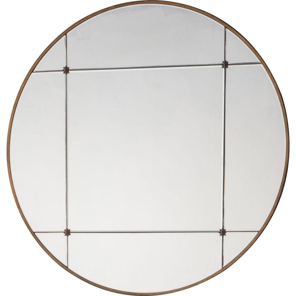 Bella Round Large Mirror Accessories Homeware 1