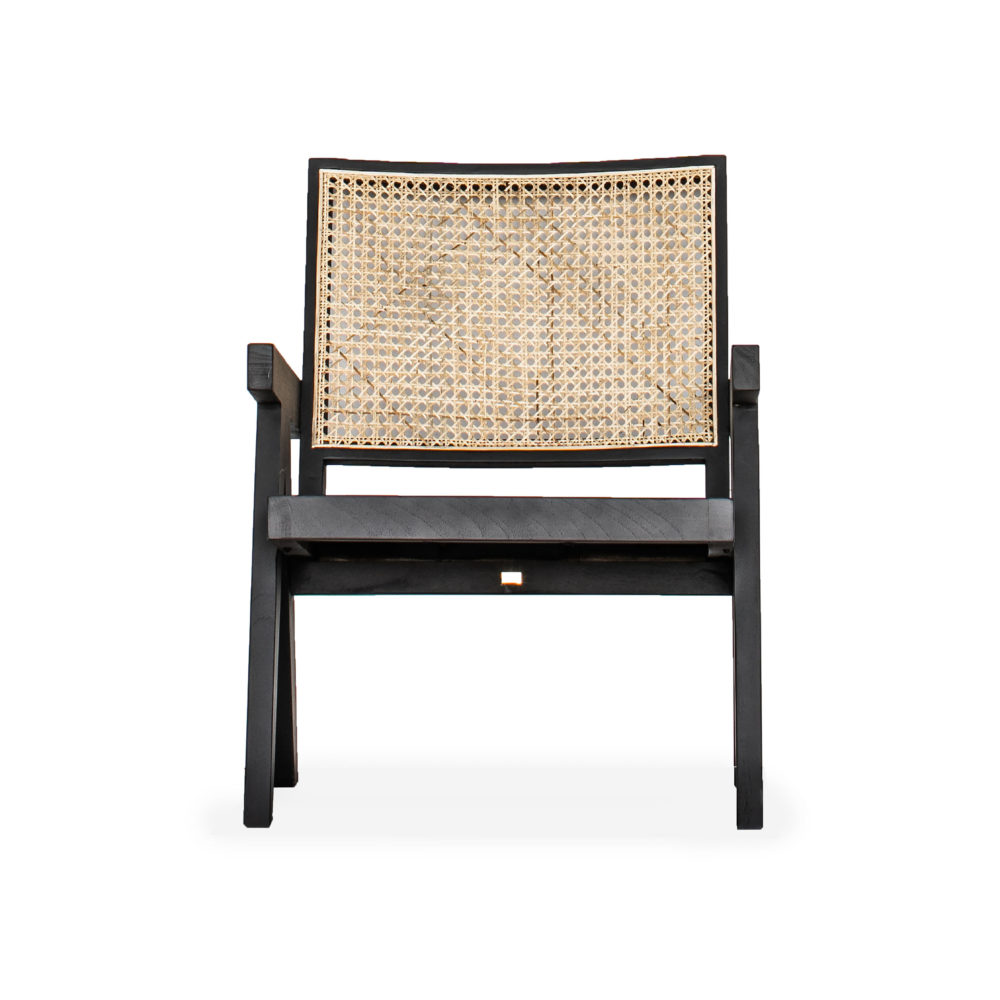 Cali Cane Timber Occasional Chair 1-1
