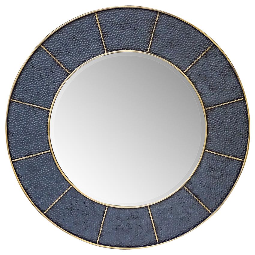 Hammered Frame Large Mirror Accessories Homeware 1