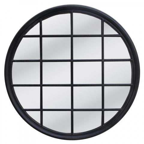 Hampton Style Round Mirror Accessories Homeware 1