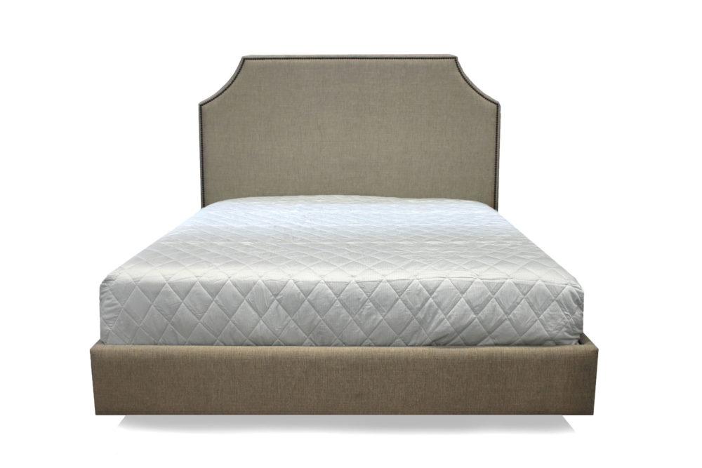 Kristen Bed Upholstered Custom King Queen Double Single 1