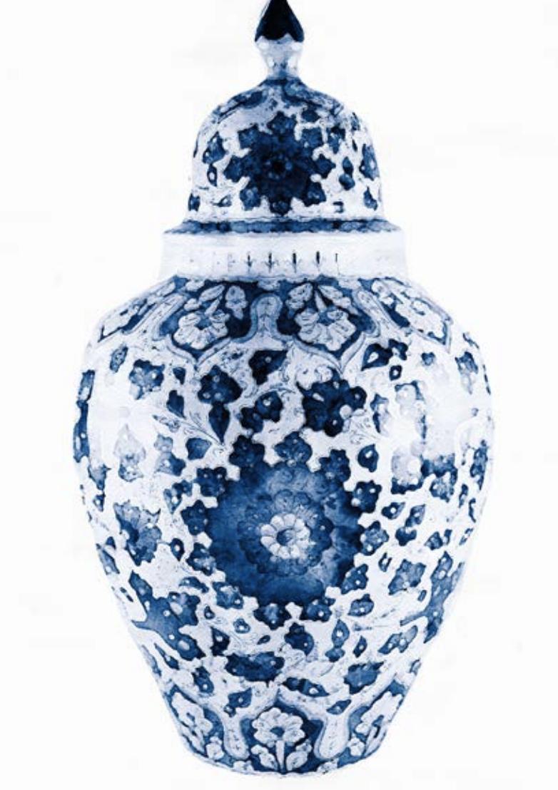 Ceramic Vase Artwork Picture 1