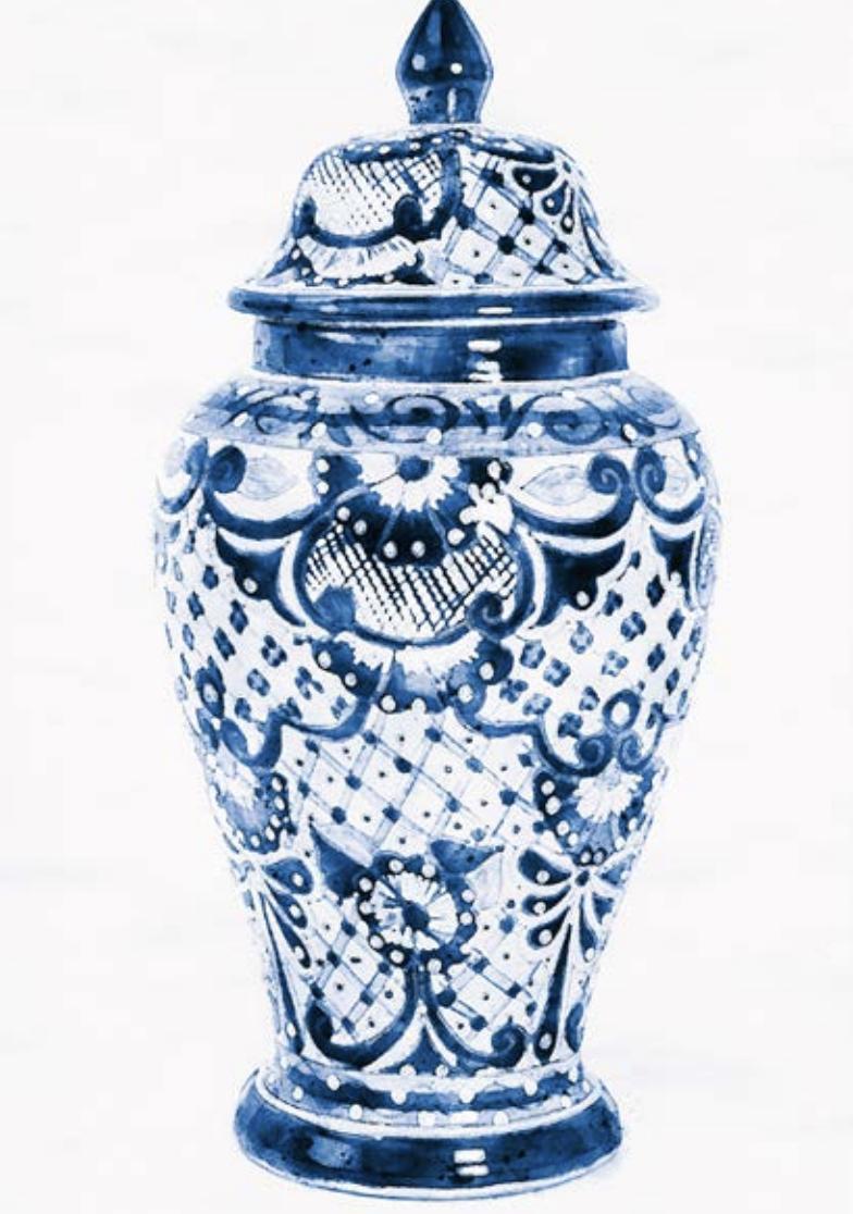 Ceramic Vase Artwork Picture 2