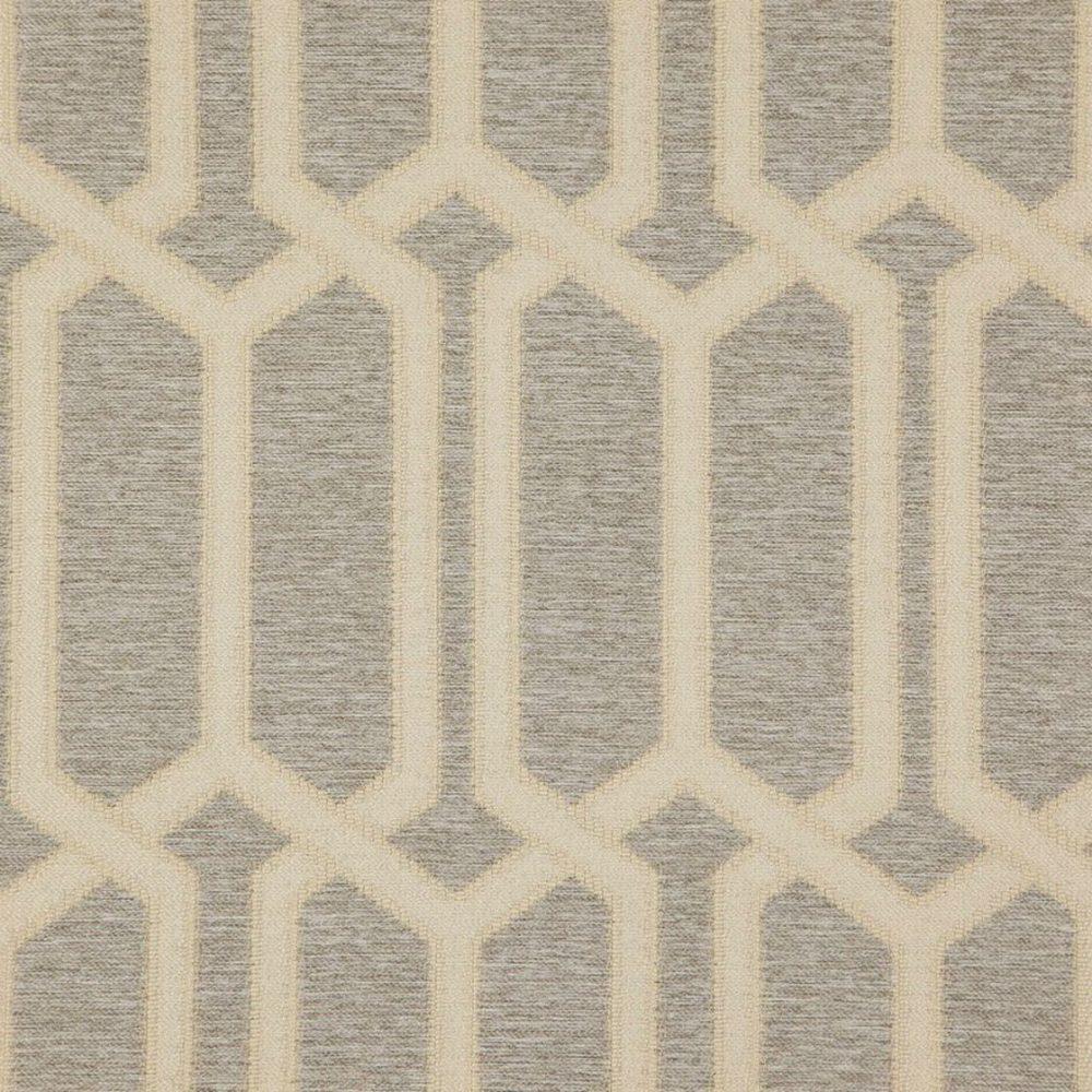 Zepel - Fanfare 04 Silver - fabric